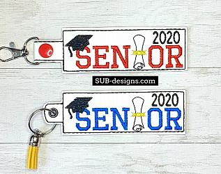 Senior 2020 hat diploma snap tab embroidery in the hoop design-senior 2020 Snap tab keyfob feltie felt embroidery design 4x4 5x7 6x10 pattern hoop small tiny mini triple bean rag raggy stitch patch in the hoop pocket vintage sketch applique planner clip paperclip book mark bookmark vinyl key fob chain 2019 2018 graduate graduation graduating cap gown black red blue keychain 12th grade 12 class school gift teacher teach student kid child boy girl covid-19 covid corona corona virus quarantine quarantined toilet paper