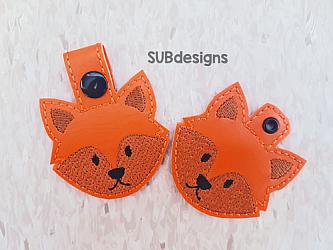 Fox face-Fox Snap tab keyfob Horse flower feltie face peeker felt embroidery design 4x4 5x7 6x10 pattern hoop small tiny mini triple bean rag raggy stitch patch in the hoop pocket vintage sketch applique planner clip paperclip book vinyl key fob chain pony 3 flowers three daisy daisies moo bull girl boy snaptab keychain eyelet zipper pull chain charm vinyl flowers cute cutie smile smiling barn barnyard barn yard farm farmyard animal animals crown eyelash sleep sleeping eye lash eyelashes pup dog doggy beagle spot spots flower crown head face flowers foxy orange tan