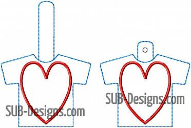 Heart applique shirt keychain snap chain design-Heart shirt applique loved ones shirt memory memorial pillow tshirt t-shirt tee old angel death Snap tab keyfob feltie felt embroidery design 4x4 5x7 6x10 pattern hoop small tiny mini triple bean rag raggy stitch patch in the hoop pocket vintage sketch applique planner clip paperclip book vinyl key fob chain memorial day past passed died shirt scrap keychain key chain keyfob fob