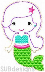 Mermaid felties (3 sizes included)-3 sizes mermaid tail tale feltie felt embroidery design 4x4 5x7 6x10 pattern hoop small tiny mini triple bean rag raggy stitch patch in the hoop vintage sketch applique planner clip paperclip book summer