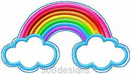 Rainbow book band-Book band rainbow oversized feltie outline silhouette felt embroidery design 4x4 5x7 6x10 pattern small tiny mini triple bean patch in the hoop applique planner clip paperclip book pen elastic diy bookmark page bird summer hair bow holder hairbow
